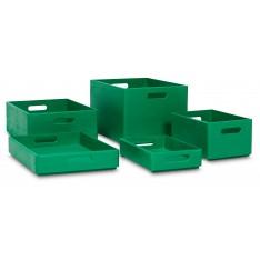 Skrzynka drewniana 40x30x23cm Mint green