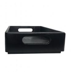 Skrzynka drewniana 30x20x7 cm Czarna