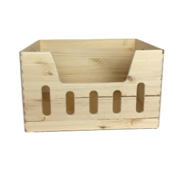 Skrzynka drewniana 40x30x23 cm z wybraniem