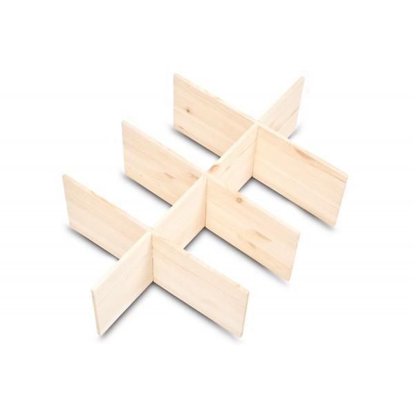 Separator drewniany 57x37x15cm