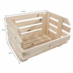 Skrzynka drewniana 39x30x23cm