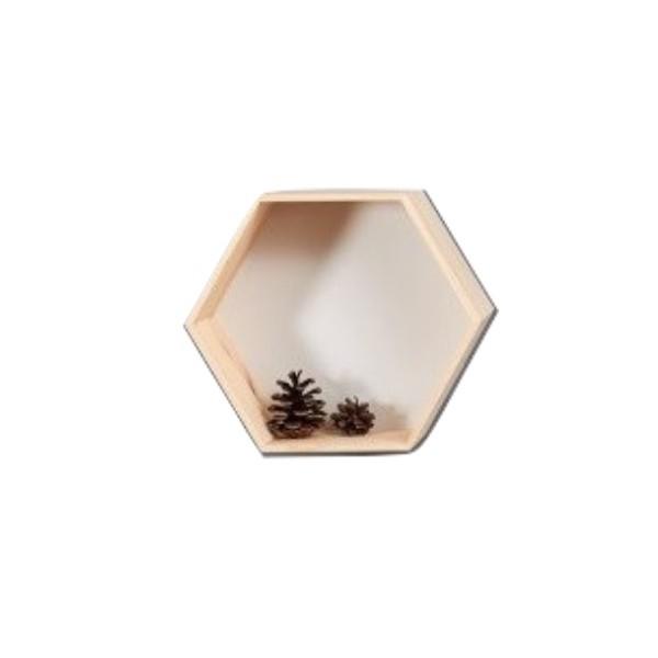 """Półka plaster miodu """"heksagon"""" 35x30,5x14 cm"""