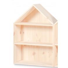 Półka domek drewniany I 32x12x44