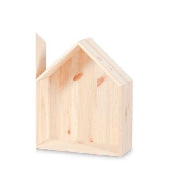 Półka domek drewniany III 27x12x33