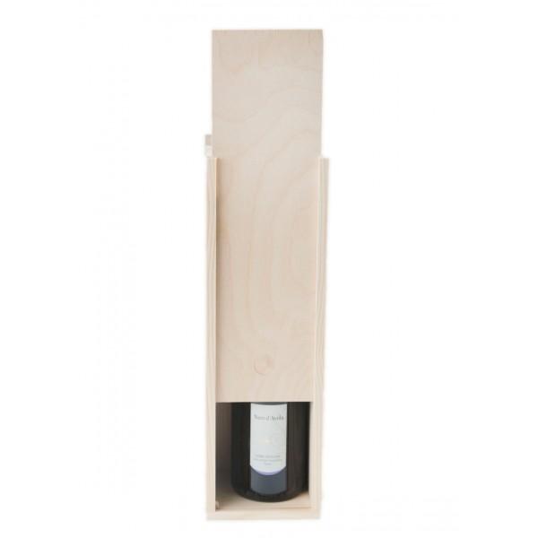 Skrzynka drewniana na wino 10x11x35 cm