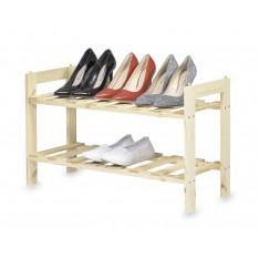 Półka na buty drewniana 70x26x40 cm
