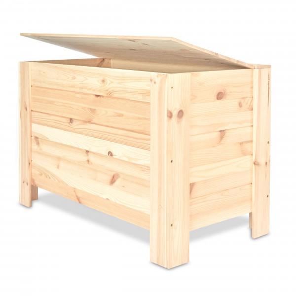 Kufer drewniany 77x40x47 cm