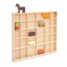 Półka drewniana 45x4x40 cm