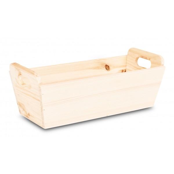 Doniczka drewniana 35x14,5x13 cm