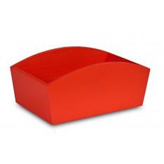 Doniczka drewniana 28x16x12cm Pure Red