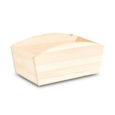 Doniczka drewniana 28x16x12 cm