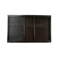 Taca z nogami drewniana 51x32x24 cm Sepia brown