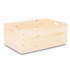 Skrzynka drewniana 60x40x23,5 cm