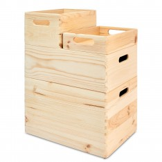Skrzynka drewniana 30x20x13,5 cm