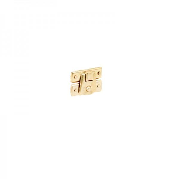 Zapinka / Zatrzask sprężynowy 30x20 mm Złoty