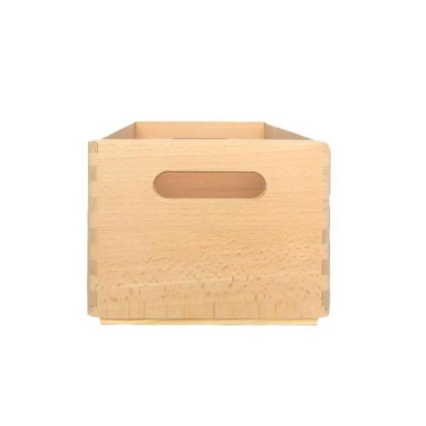 Skrzynka bukowa drewniana 30x20x13,5cm