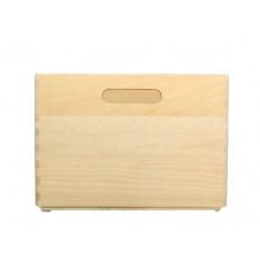 Skrzynka bukowa drewniana 40x30x23 cm