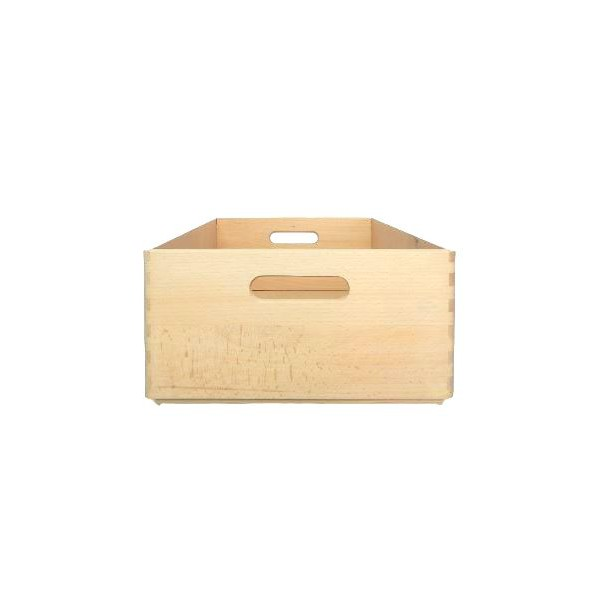 Skrzynka bukowa drewniana 40x30x13,5 cm