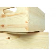 Skrzynka drewniana 40x30x23 cm