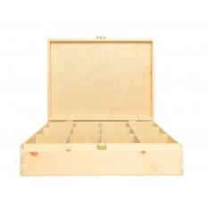 Herbaciarka drewniana 29,5x22,5x8 cm