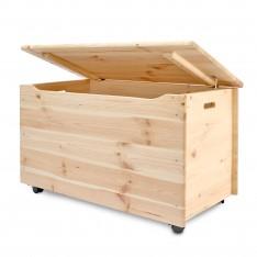 Kufer drewniany 90x48x51 cm
