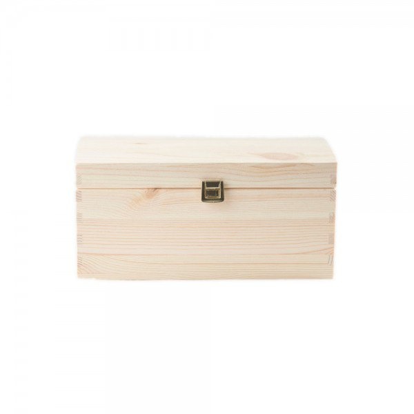 Kuferek drewniany 35x25x18,5 cm