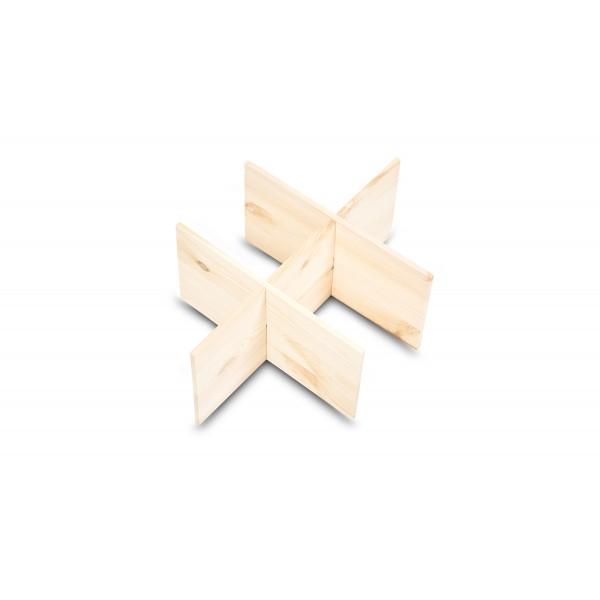 Separator drewniany 37x27x15 cm