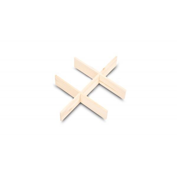 Separator drewniany 37x27x6,5 cm